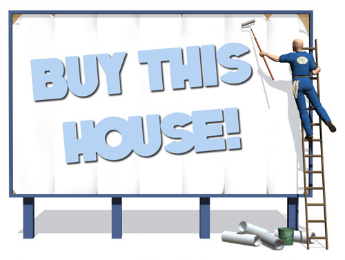 Will more advertising sell an overpriced house?